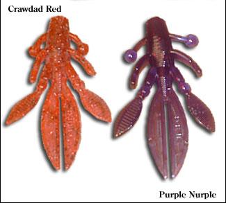 flappin craw - custom hand-poured soft plastic baits - bcbaits, Soft Baits